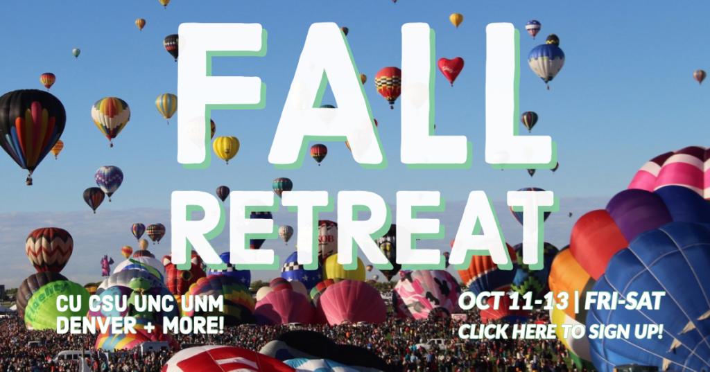 fall retreat signup
